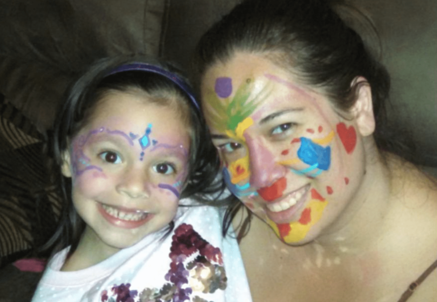 The Face Painter's Face