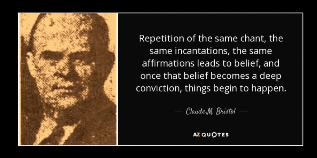 The Magic of Believing – Claude M. Bristol